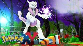 Minecraft: Pokemon X Y - MEGA MEWTWO MATOU O ASH #99