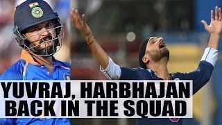 Yuvraj and Harbhajan in Punjab squad for Vijay Haraze Trophy | Oneindia News