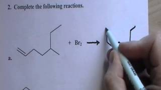 CHEM 1060 Lecture 016 Chemical Reactions of Alkenes