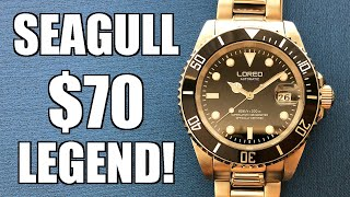 "The Sea-Gull Powered Little Cracker! Loreo ""Submariner"" L9201G Automatic - Perth WAtch #307"
