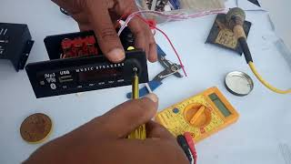 Homemade Mini Bluetooth Speaker Amplifier At Home with Remote Control | Homemade USB SD MP3 Player