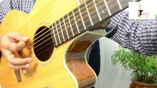 Yeh Fitoor Mera guitar lesson (Intro power chords) |Arijit singh| www.tamsguitar.com