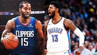 Kawhi Leonard Signs With Clippers & Paul George Traded To Clippers By OKC Thunder!