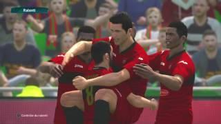 PS4 PES 2017 Gameplay MC Alger vs USM Alger HD