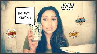 Few Fun Facts About Me!