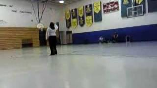 Blanche Ely HS Color Guard Solo 2009 - Renee Wilson