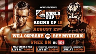 Pro Wrestling World Cup Finals: Rey Mysterio vs Will Ospreay & Much More