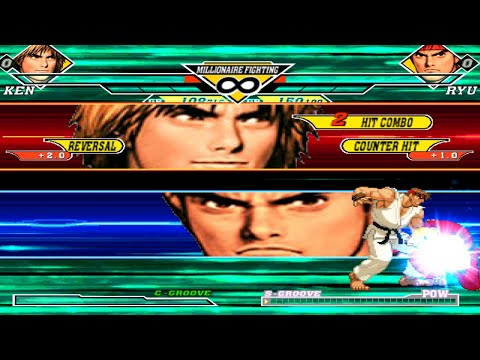 KOFM Lv3 Ken Masters Vs Ryu