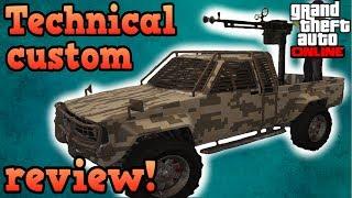 Technical custom review! - GTA Online