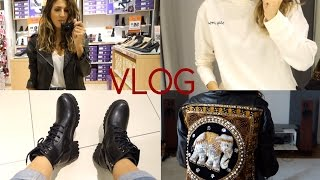 VLOG | Alışveriş turu, Kışlık neler aldım ?