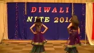 Ritu and Ria dance (2014 Diwali Party)