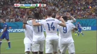 Inglaterra vs Italia 1-2 Grupo D Mundial 2014 TV Azteca
