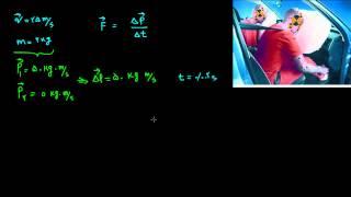مکانیک نیوتونی ۱۹ - اهمیت کیسه هوا در ایمنی