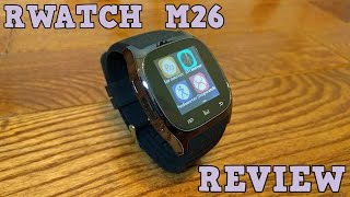 RWATCH M26 Smartwatch REVIEW