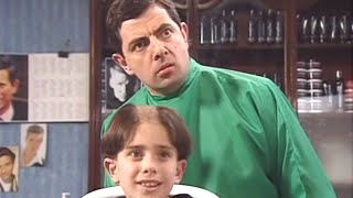 Hair today gone tomorrow | Funny Clips | Mr Bean Official
