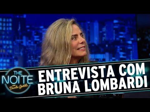 The Noite 14 12 15 Entrevista com Bruna Lombardi