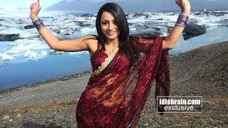 Trisha hot and cute in Sari