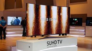 Samsung KS9500 SUHD 4K TV Breaks Cover at CES 2016