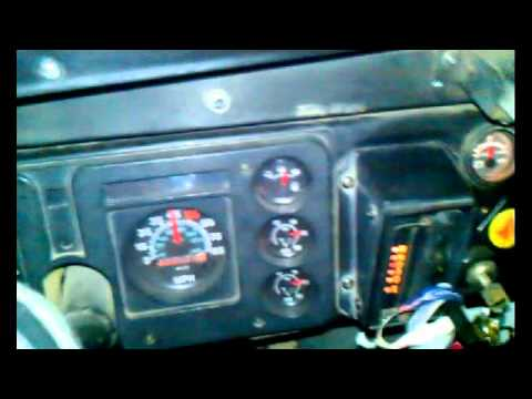Shifting the two transmissions on my 1987 International Bus