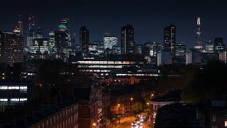 London City Time Lapse Stock Video