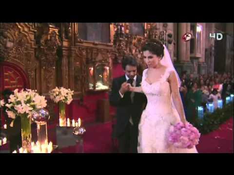 Boda de Eugenio Derbez y Alessandra Rosaldo Ceremonia Completo HD Parte 1 2