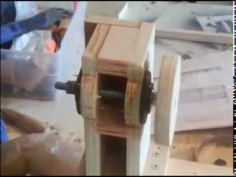 Homemade Lathe router copier duplicator Part 1 woodworking plans