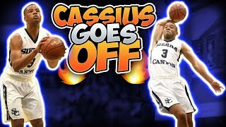 HOW DOES SIERRA CANYON EVER LOSE!? Cassius Stanley & KJ Martin Play TOP TEAM In Cali!