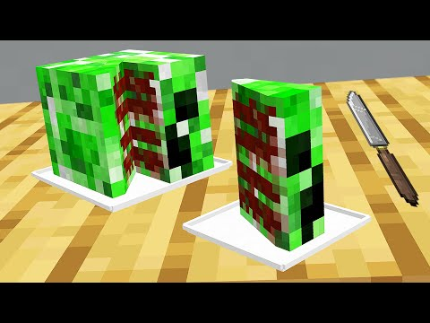 Minecraft Mobs if they were all edible