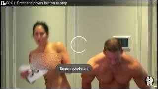 Jhon Cena and Nikki Bella nude celebration video
