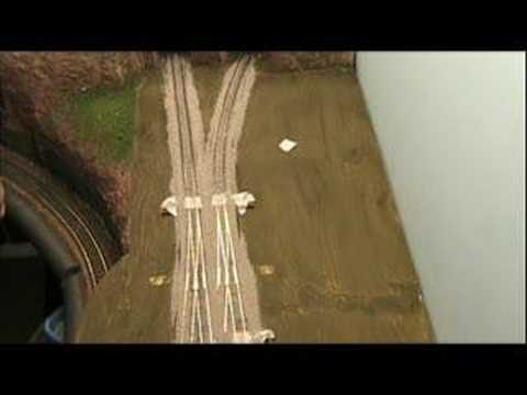 Model Railroad VLog Ballasting Track Part 2
