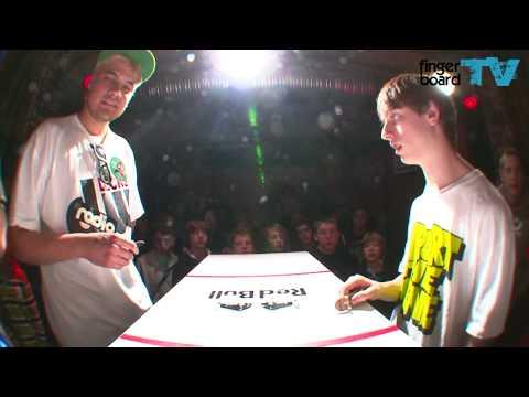 fingerboardTV Battle At The Harrics Mike Schneider vs. Daniele Comuzzi