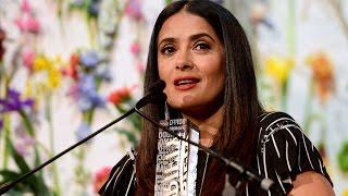 Salma Hayek praises Blake Lively at Variety's Power of Women NYC luncheon