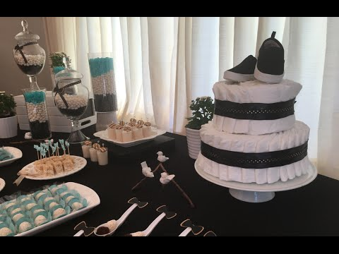 Step by step baby shower Party decoration with Flavia Calina