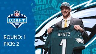 Carson Wentz (QB) | Pick 2: Philadelphia Eagles | 2016 NFL Draft