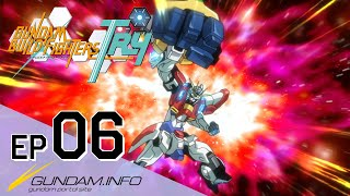 GUNDAM BUILD FIGHTERS TRY-Episode 6: Ruler Of The Battlefield (ENG sub)