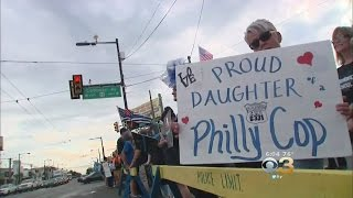 Hundreds Gather For Pro-Police Rally