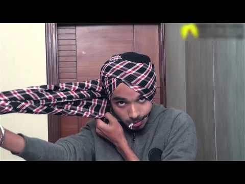 (HD) How to tie a Turban | Full Step by Step Guide 2015 ( Hindi Video )