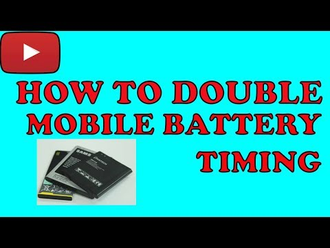 How to Increase Mobile Battery Timing| Double Mobile Battery Timing [Hindi/Urdu] By Sara