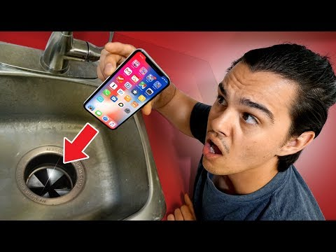 Xxx Mp4 Will An IPhone X Survive A Garbage Disposal 3gp Sex