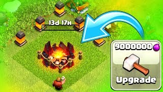 TIME TO UPGRADE TO MAX LEVEL!! - Clash Of Clans - NEW LEVEL 9 ARMY CAMPS!!