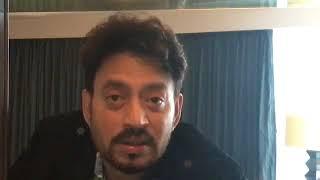 Irrfan Khan Live Thanking Fans For The Success Of Qarib Qarib Single Fresh Box Office Snippets
