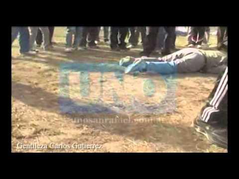 Video accidente en parapente Salto de las Rosas