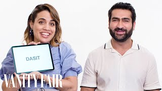 Kumail Nanjiani & Natalie Morales Teach You Urdu and Miami Spanish Slang | Vanity Fair