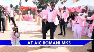VIMBADA DANCE AT A WEDDING