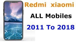 redmi mobile history - All Xiaomi Redmi mobiles 2011 to 2018