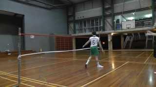 Sepak Takraw Australia - First time roll spiking!
