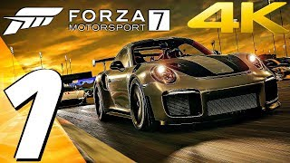 Forza Motorsport 7 - Gameplay Walkthrough Part 1 - Prologue [4K 60FPS ULTRA] PC, Xbox One X