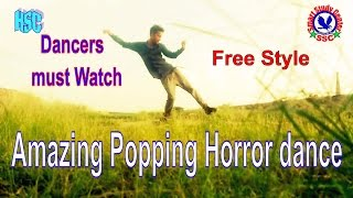 Best Popping Dance   Freestyle   Ghost House - By Shankey and Sahil khan