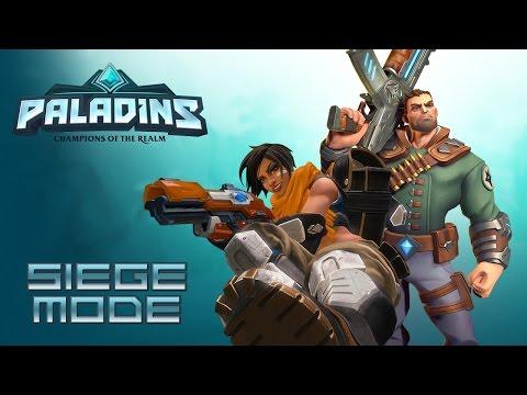 Paladins :: Siege :: Viktor e Kinessa :: Cheguei (atrasado) no Paladins!
