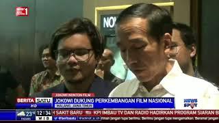 Jokowi Nonton Film Yo Wis Ben